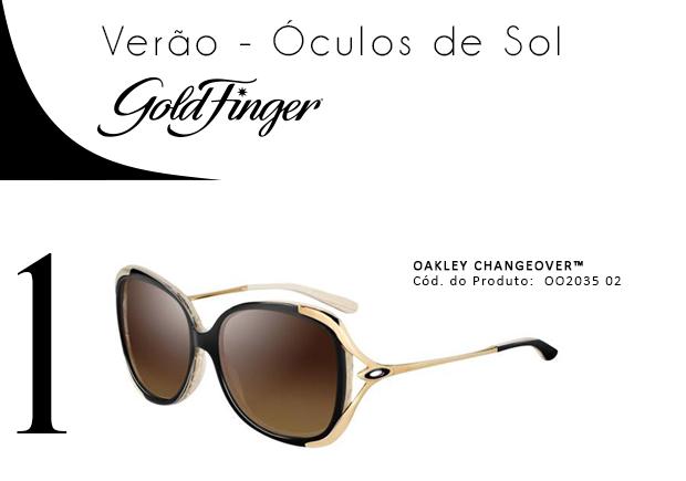 Venha até uma de nossas lojas ou visite ao nosso site! http   www.goldfinger.com.br .  Publicado em Óculos de Sol ... b0be970ec0