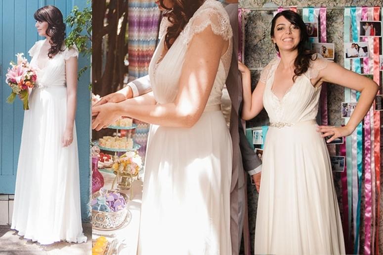Vestidos de noivas das blogueiras + Lia Camargo + 5