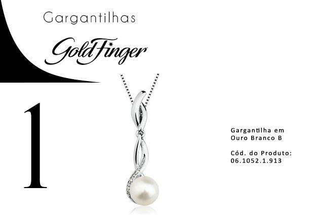 Gargantilhas + Gold Finger 1