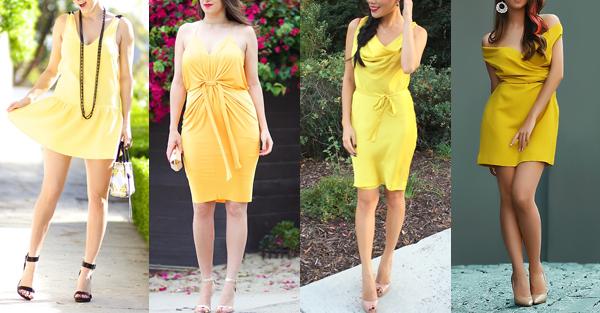 vestidos para o ano novo + amarelo + Blog + Gold Finger + 7
