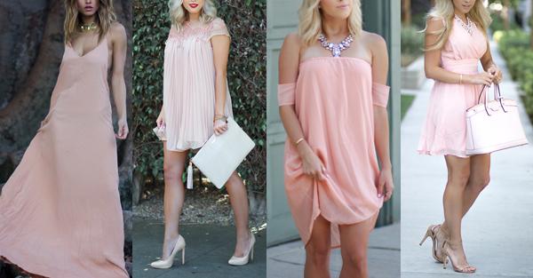 vestidos para o ano novo + rosa + Blog + Gold Finger + 3