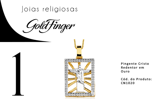blog + Gold Finger + Joias religiosas + 1