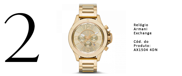 Relogios Armani Exchange - Gold Finger - 2