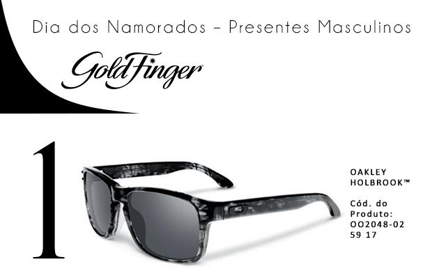 Dia dos namorados - presentes masculinos - Gold Finger - 1