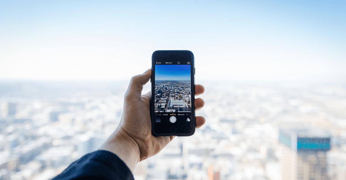 Como tirar fotos melhores com o seu celular - Gold Finger -min