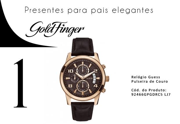 Dia dos Pais - Presentes para pais elegantes - Gold Finger 1-min